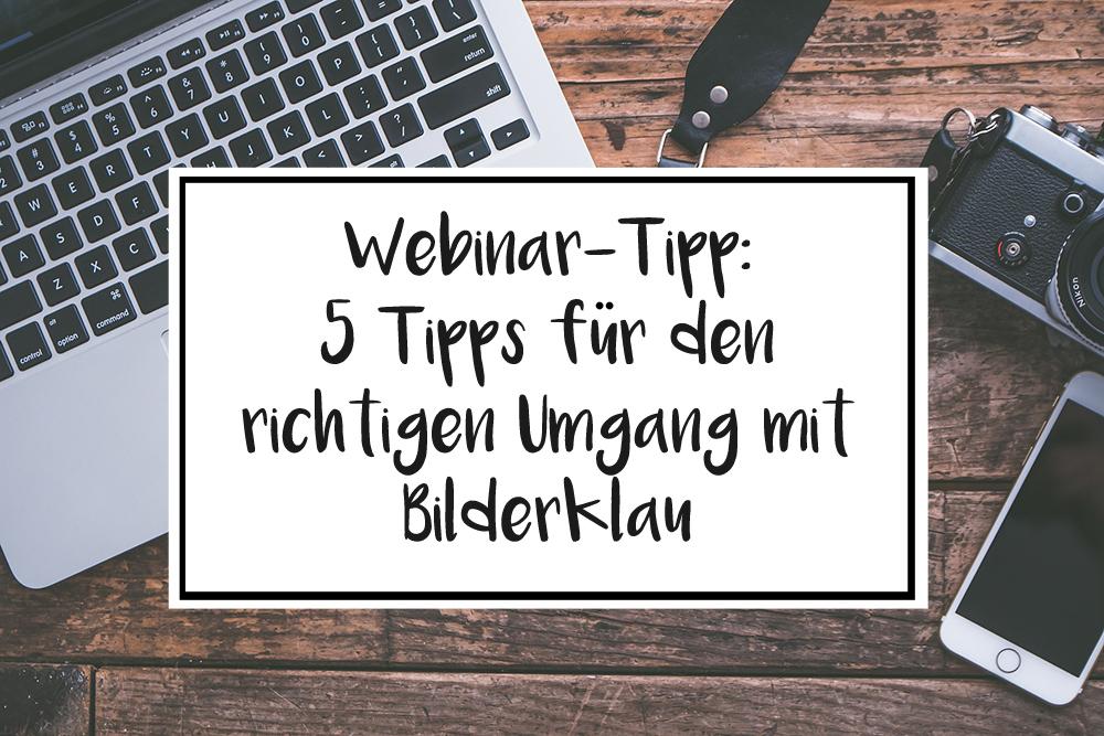 Webinar Tipp 5 Tipps für den richtigen Umgang mit Bilderklau