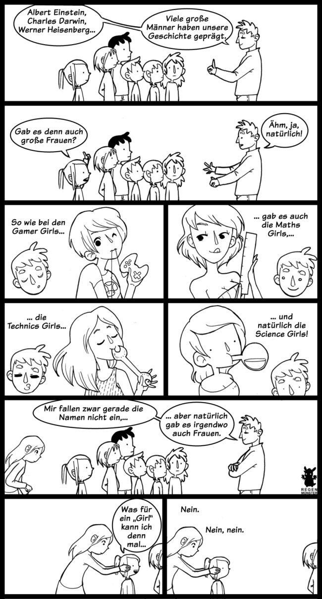 Comic Collab Nummer 77 zum Thema Erziehung