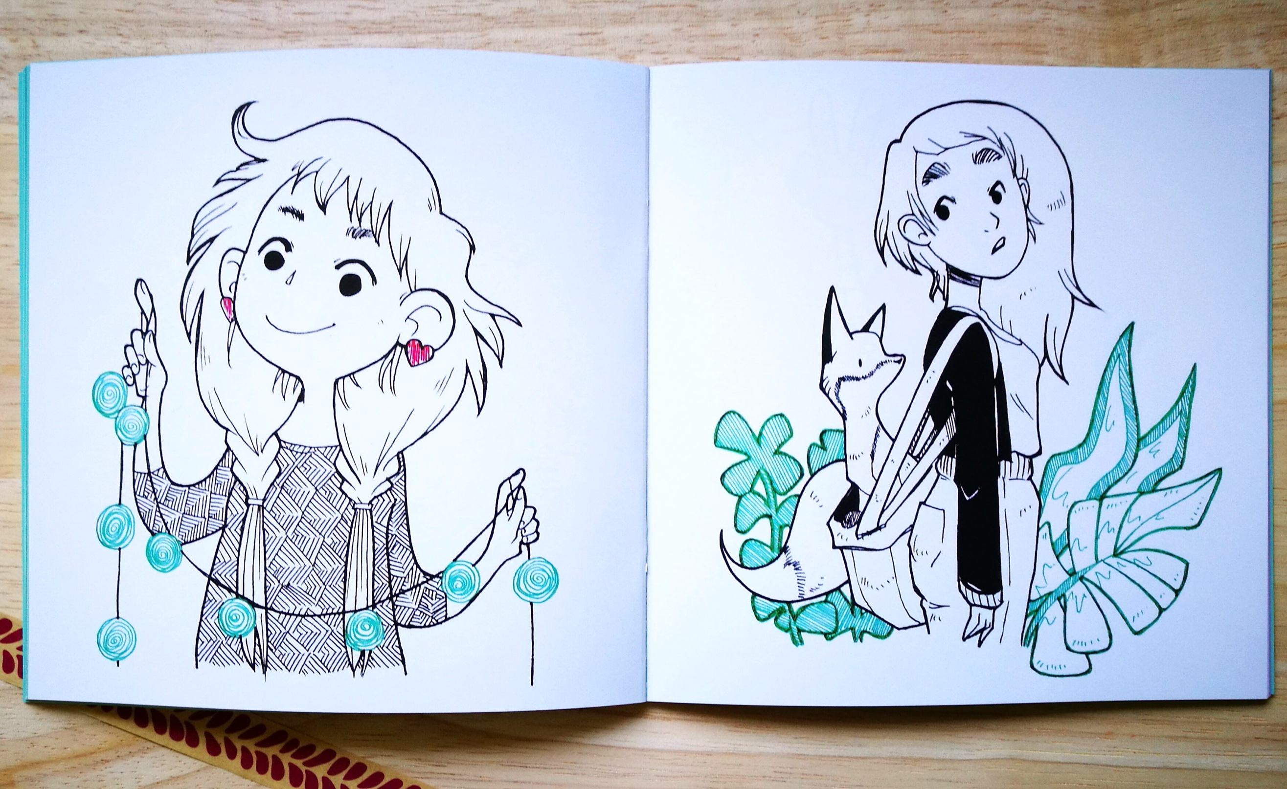Regenmonster Sketchbook Kwimbi